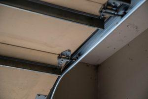 broken garage door rollers